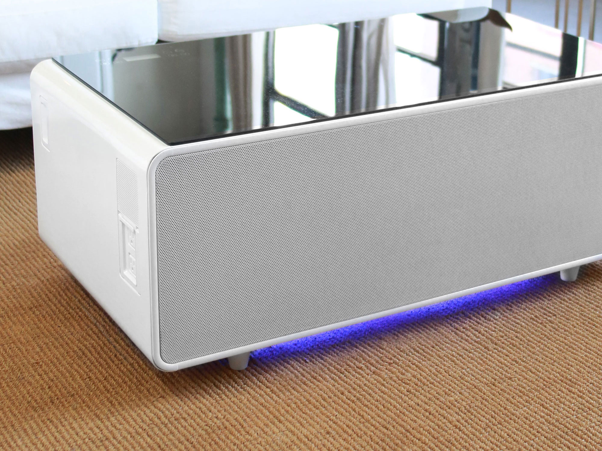 sobro coffee table the smart coffee table you never knew
