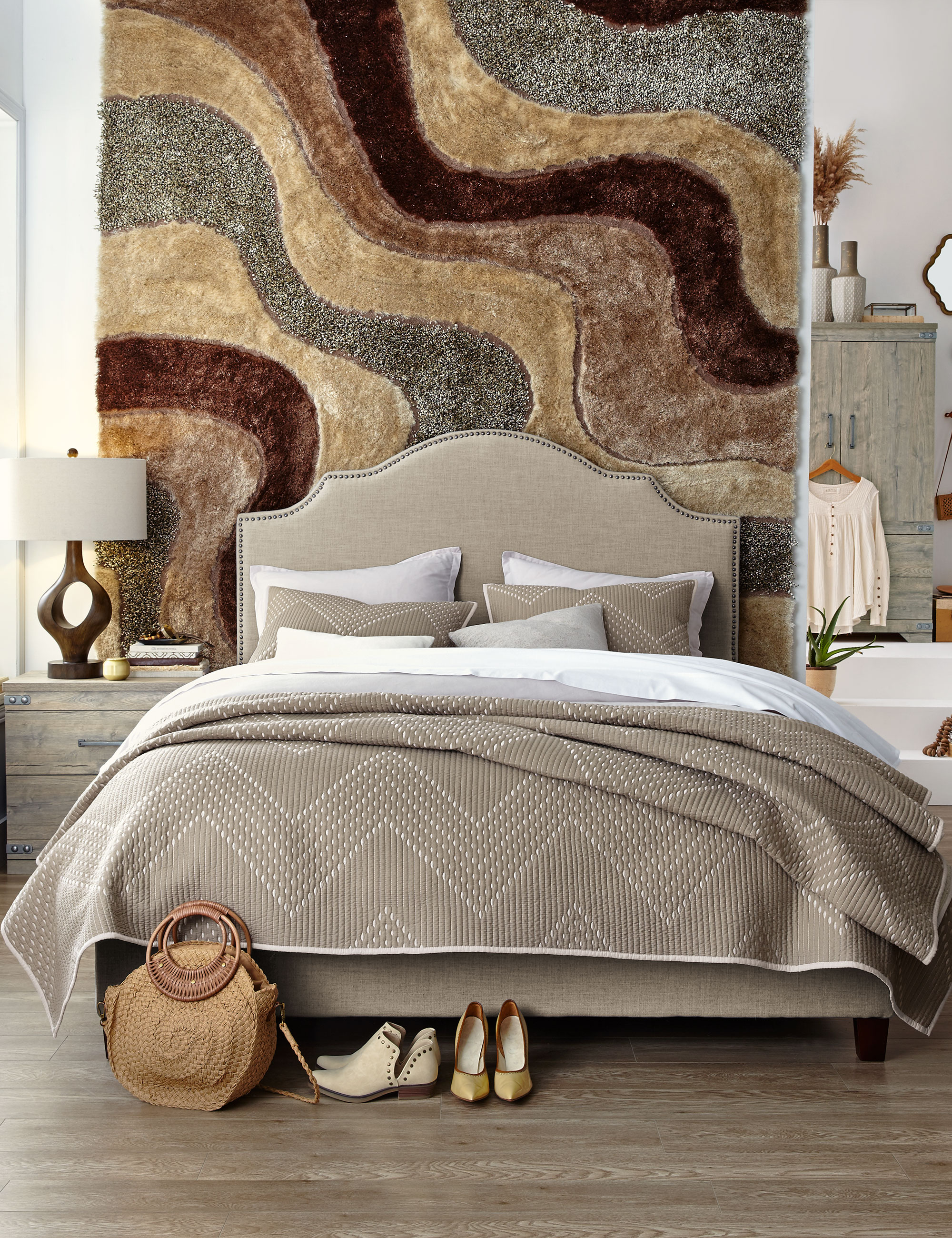 Master Bedroom Decorating Ideas Colour Style And Yes The Rug