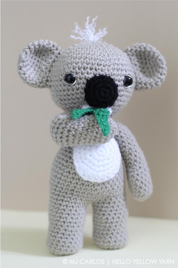 Amigurumi Koala Crochet Pattern | Supergurumi | 900x600