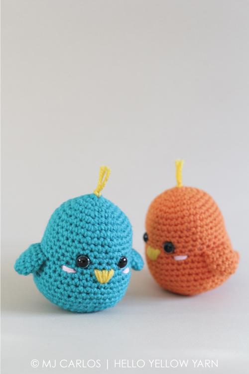 Lovebirds – Free Crochet Amigurumi Pattern | 750x500