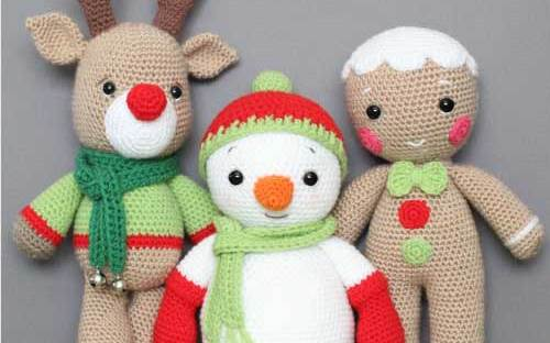 Ice Cream Snowman crochet pattern - Amigurumi Today | 312x500