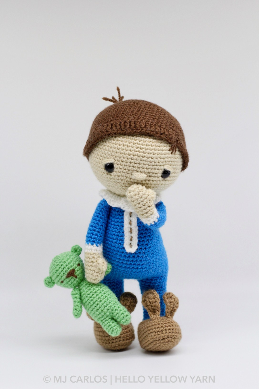 Sleepy Coby Amigurumi Pattern