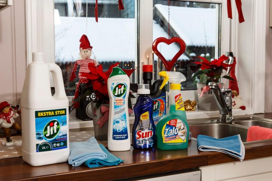 Miljøbilder med produkter