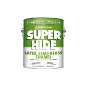 SuperHide by Benjamin Moore – Interior Semi-Gloss