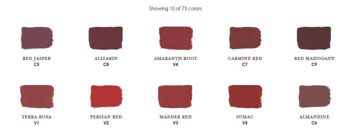 Claret Century Paint Colors