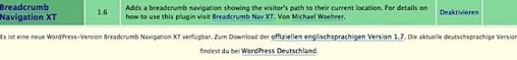 WordPress Update Hinweise