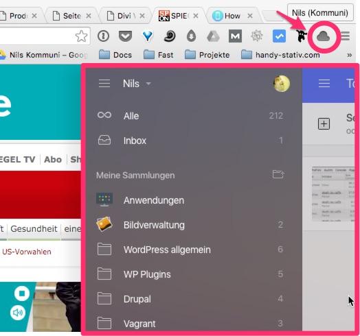 Raindrop: Chrome Extension