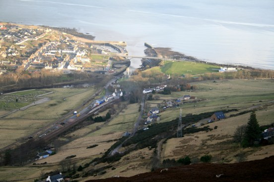 Helmsdale from above