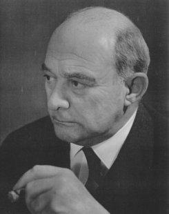 Plessner, ca. 1956 in Göttingen