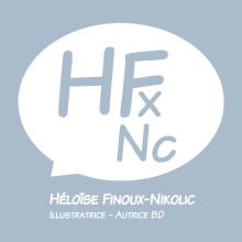 Logo de Héloïse Finoux-Nikolic Illustratrice et autrice BD