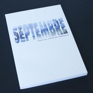 couverture de la BD Septembre d'Héloïse Finoux-Nikolic