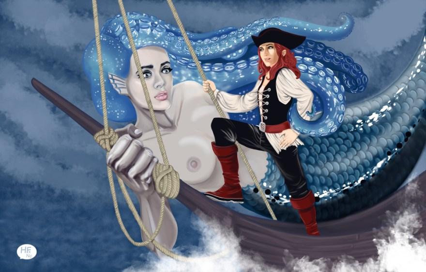 La sirène et la capitaine