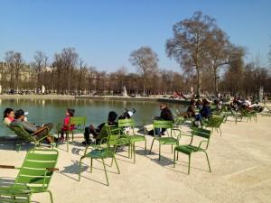 Tuileriengarten in Paris