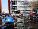 Am Centre Georges Pompidou in Paris