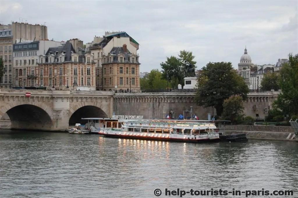 Bootstour mit Vedettes du Pont-Neuf in Paris