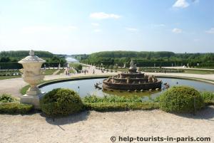 Gartenanlage Schloss Versailles