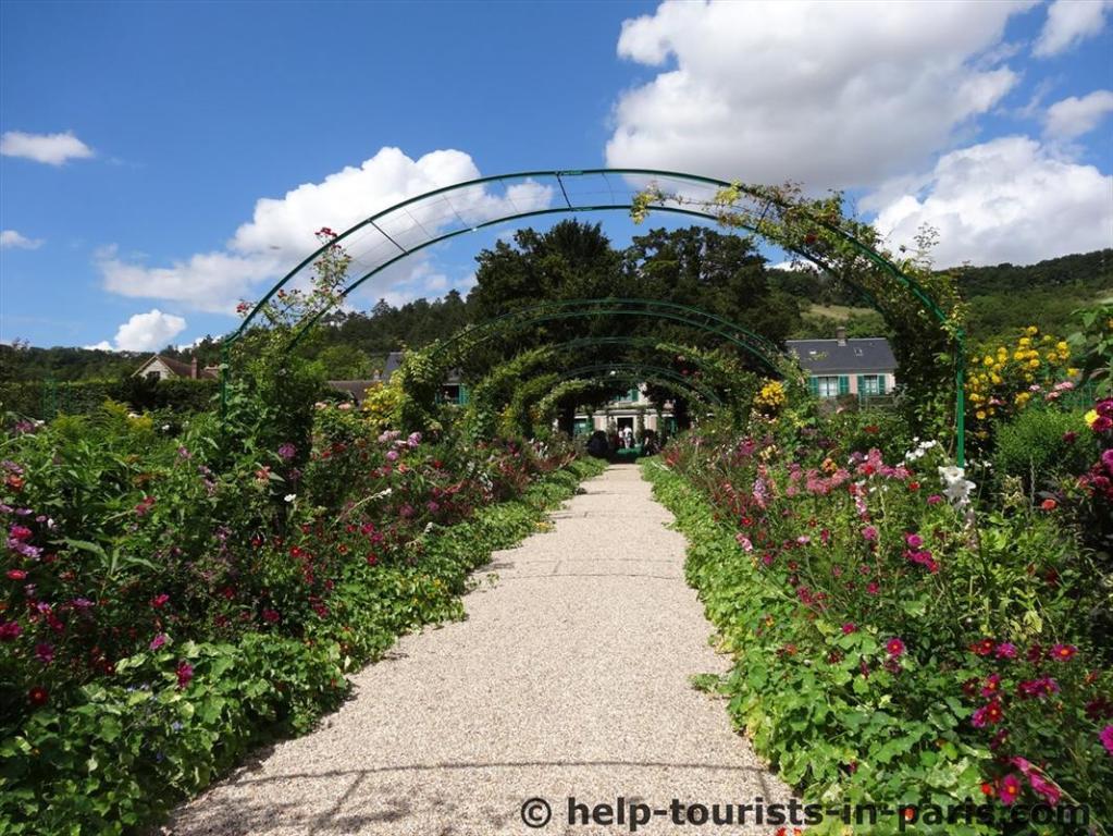 Garten von Monet in Giverny