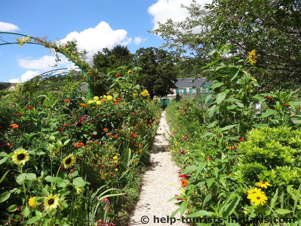 Monet Blumengarten Giverny