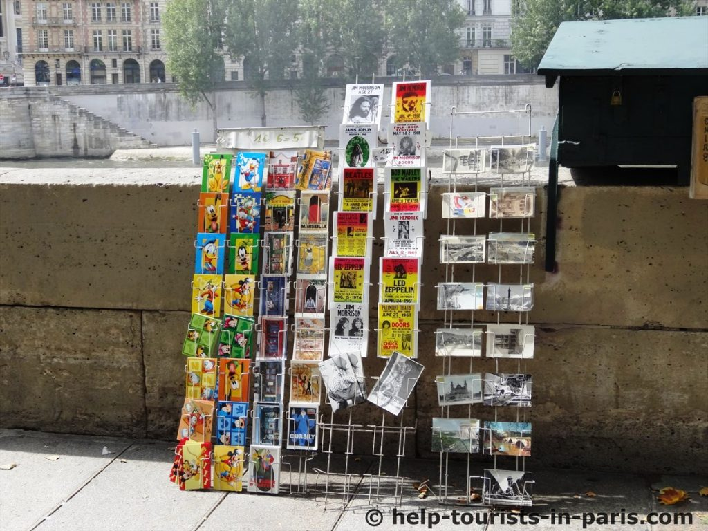 Die Bouquinisten in Paris | Touristen in Paris