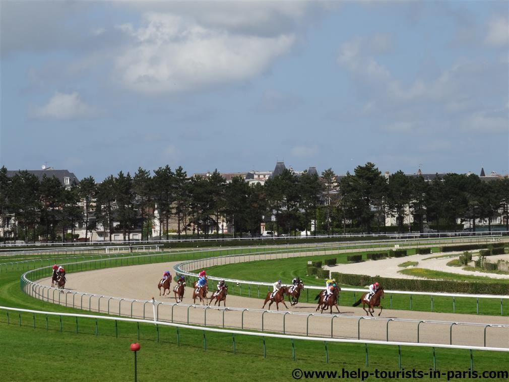 Pferderennen Deauville