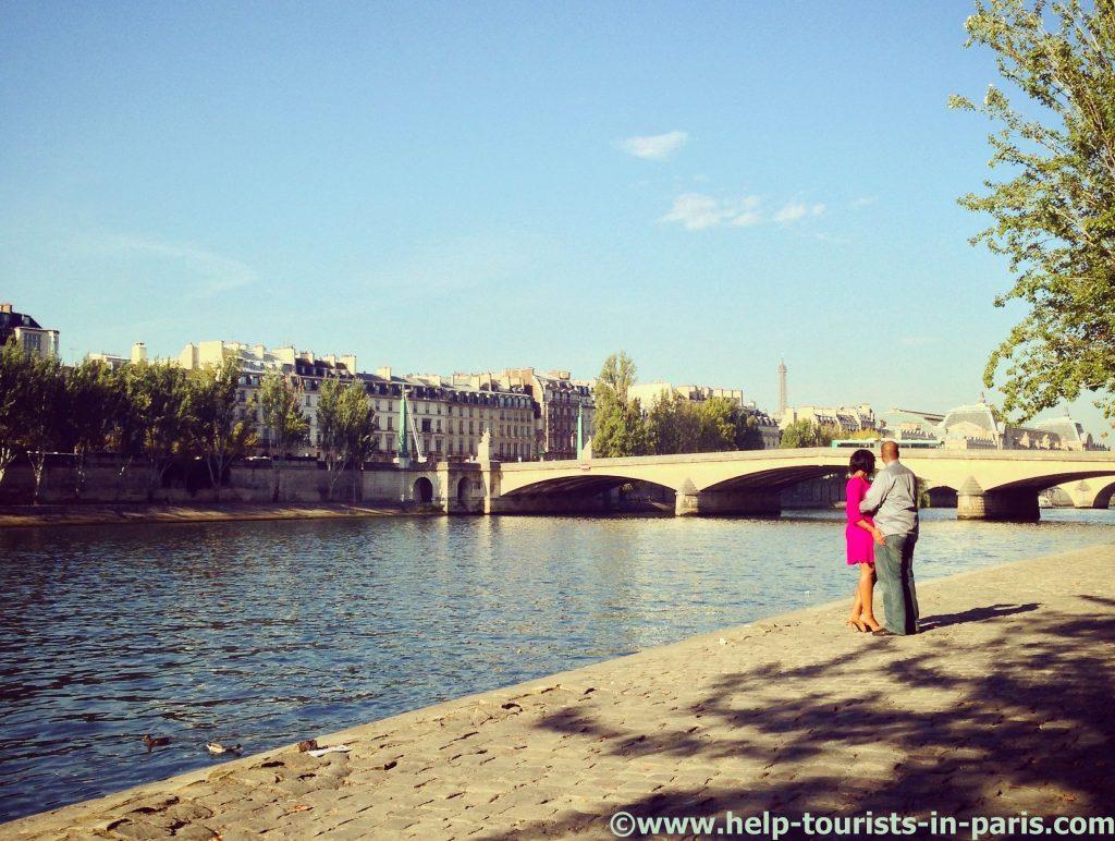 Heiratsantrag in Paris
