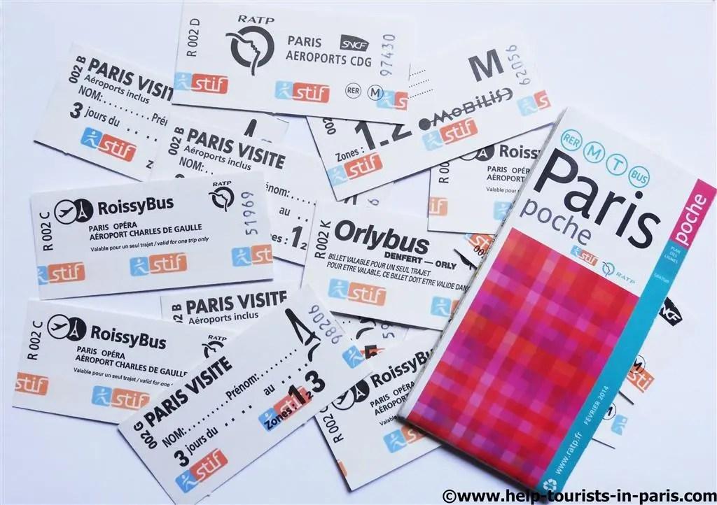 Paris Metro Tickets online kaufen