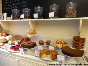Große Kuchenauswahl Claus Paris