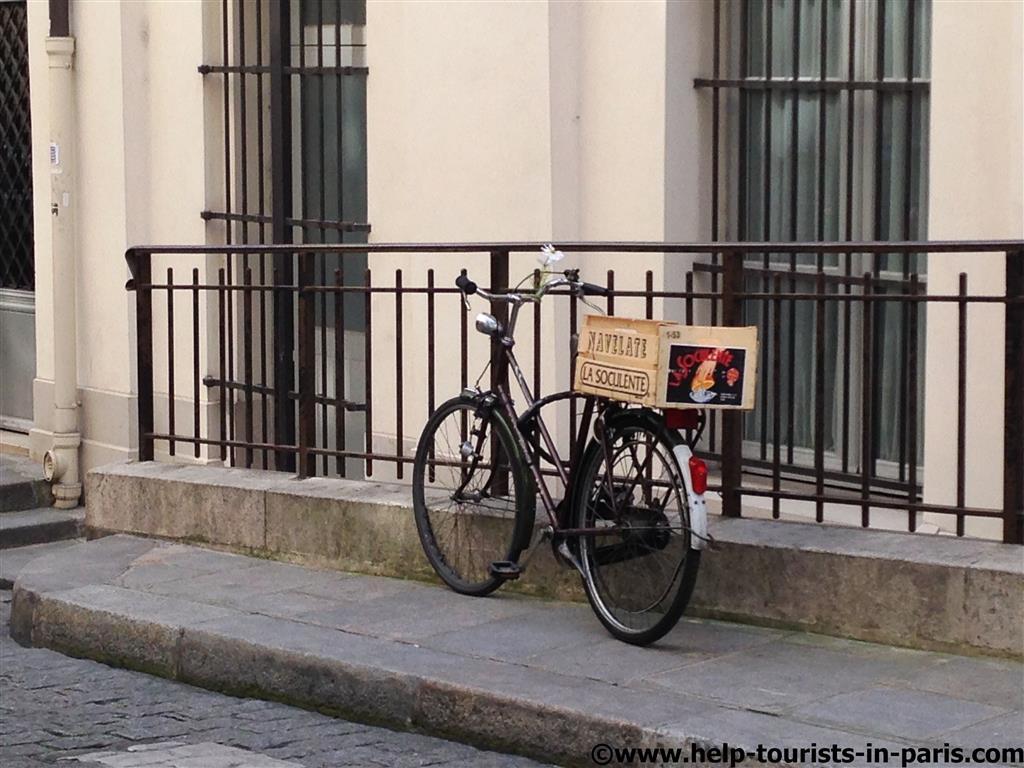 Fahrradfahren in Paris