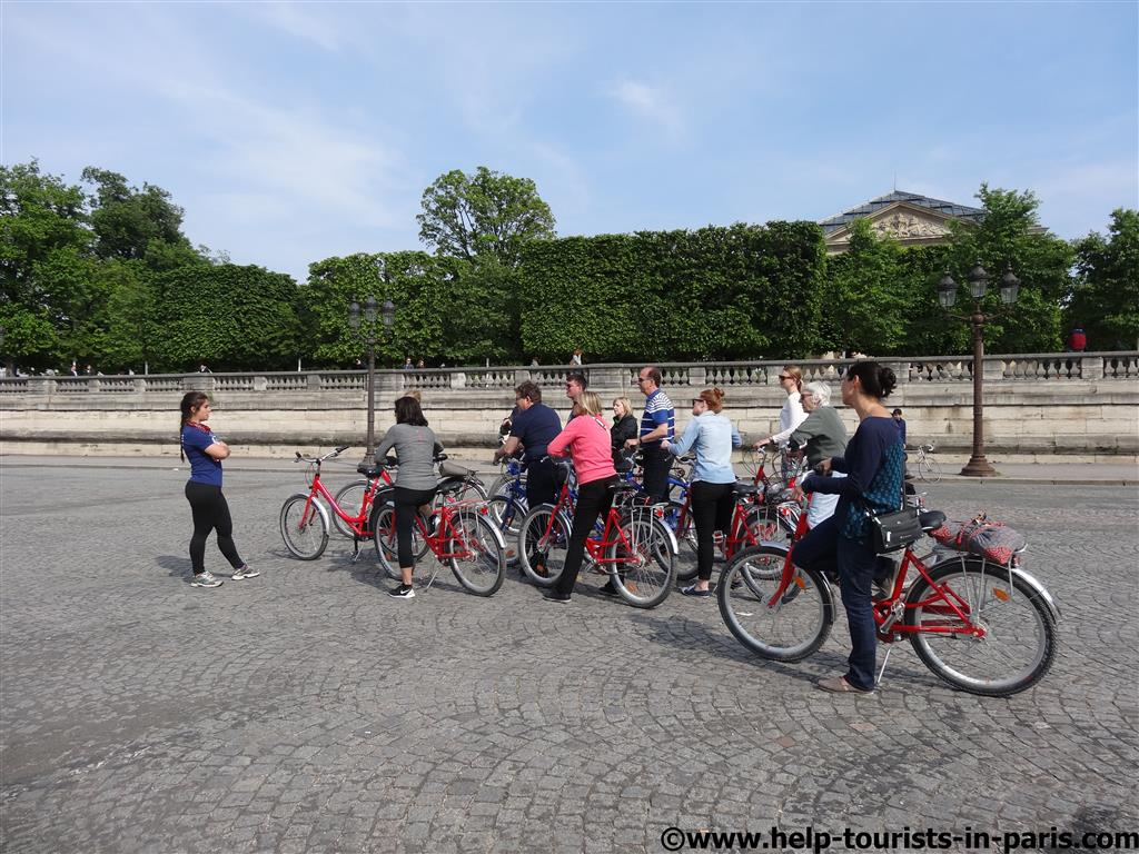 Fahrradtour Paris