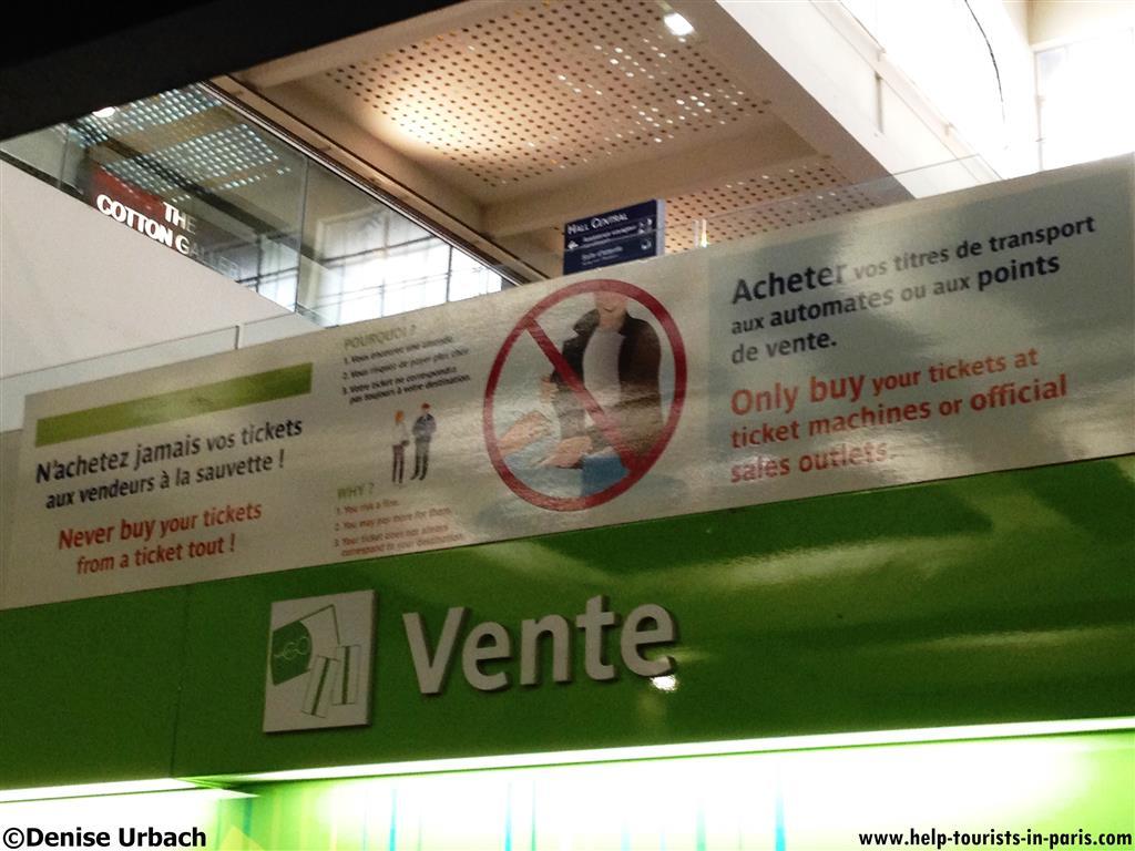 Abzocke in Paris Ostbahnhof