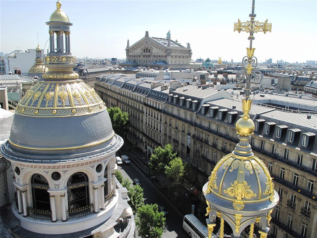 Printemps Blick auf die Oper Garnier