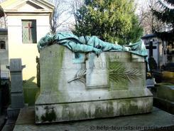 Montmartre Friedhof