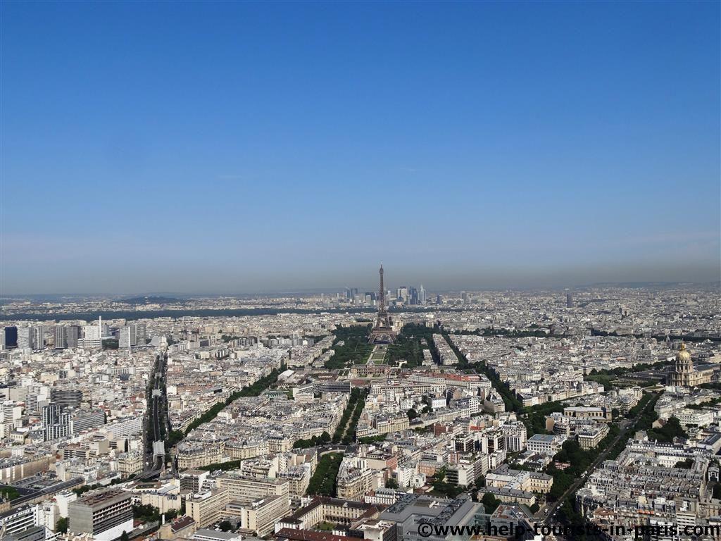 Ausblick auf Eiffelturm Paris