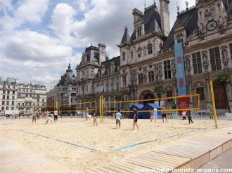 Volleyball Hôtel de Ville Paris Plages