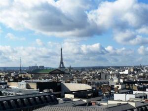 Ausblick Galeries Lafayette