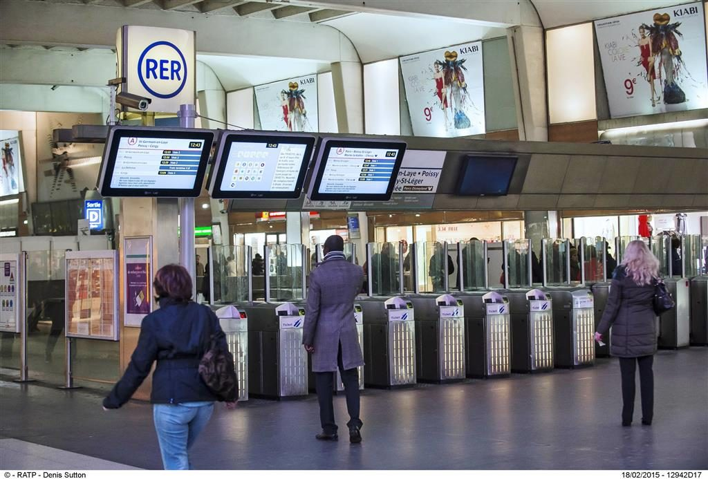 ACCES RER LIGNE A DU POLE MULTIMODAL DE LA DEFENSE
