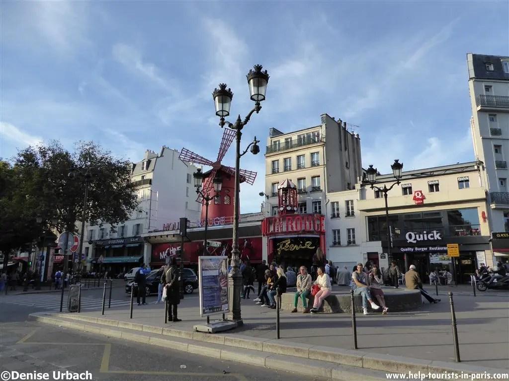 Treffpunkt Stadtführung durch Montmartre