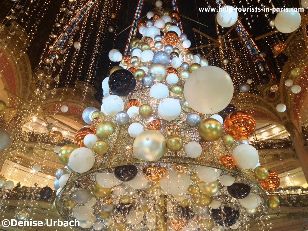 Weihnachtsbaum 2015 Galeries Lafayette