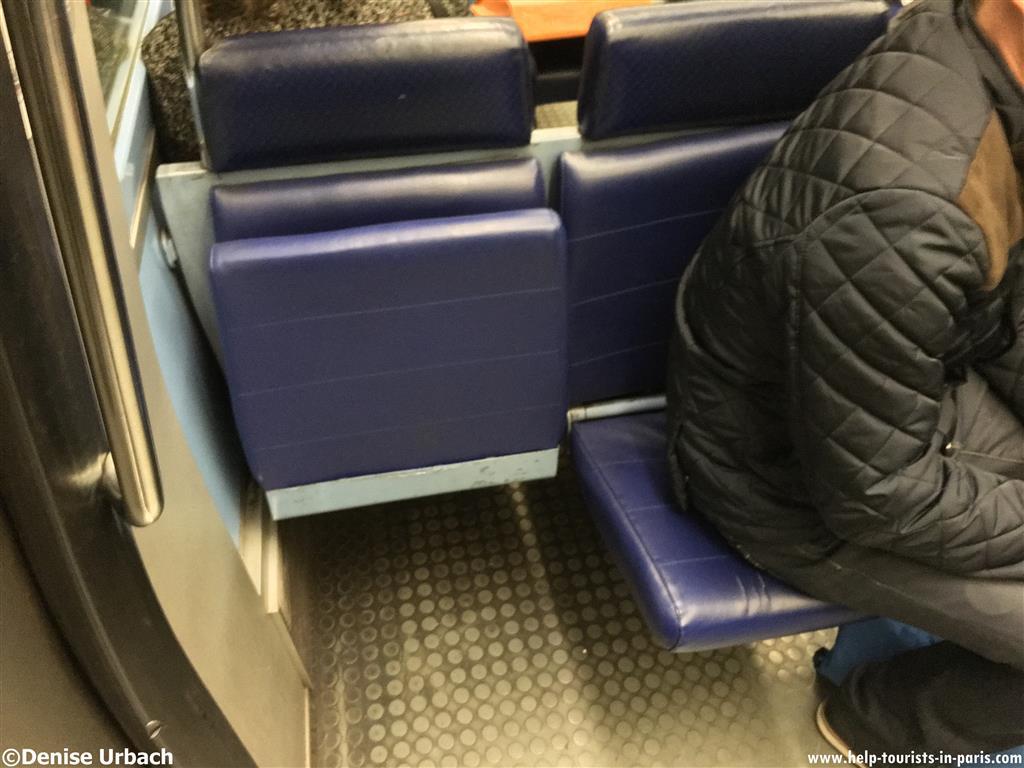 Klappsitze Metro