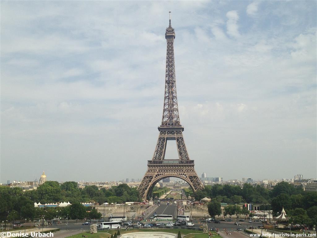 Aufnahme Eiffelturm