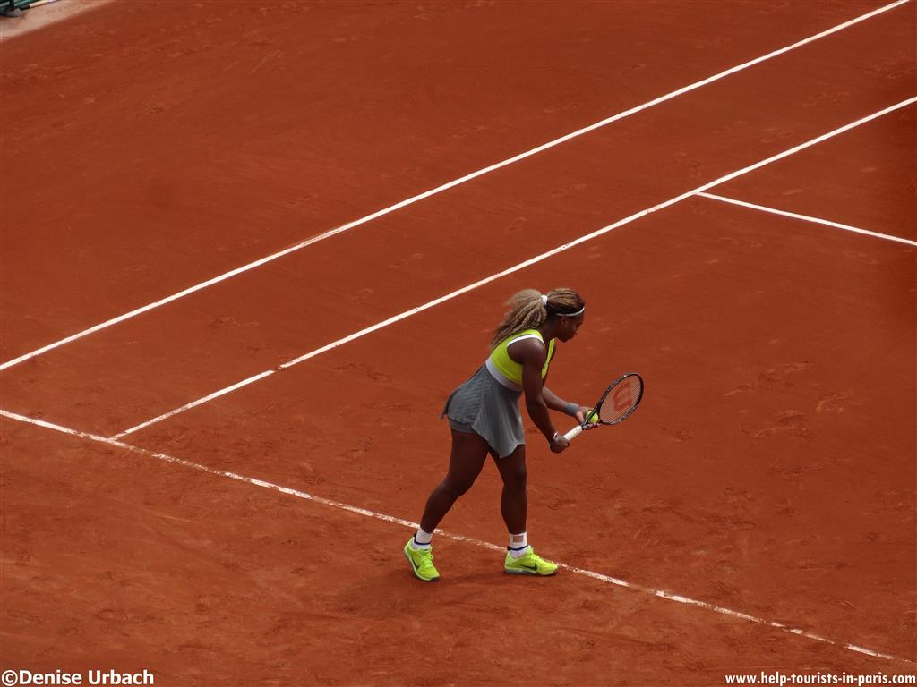 French Open Paris Venus Williams