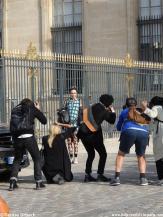 Fotografen Pariser Fashion week