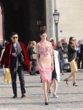 Fashion Week Paris: Nach einer Modenschau