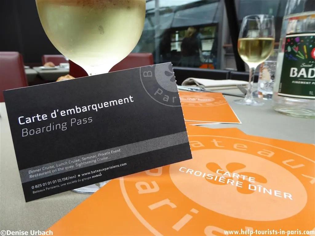 Dinerfahrt Paris