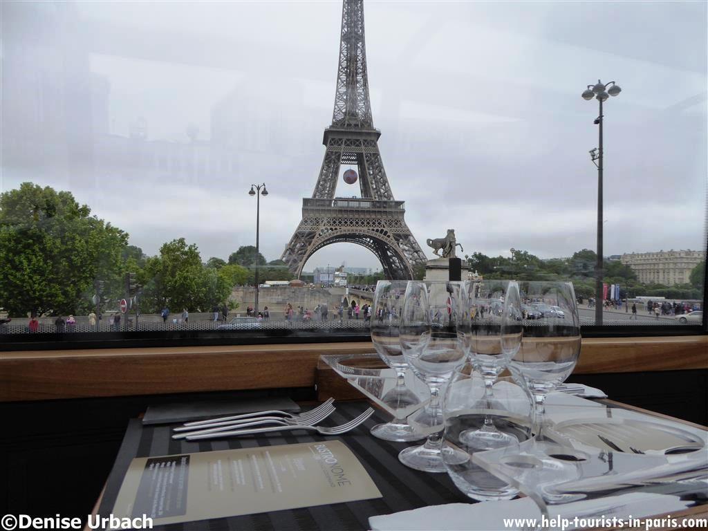 Eiffelturmblick Bustronome Paris
