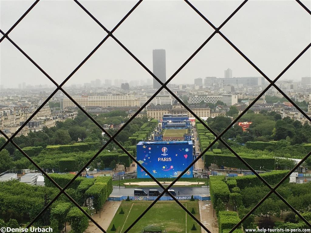 Fanzone Eiffelturm