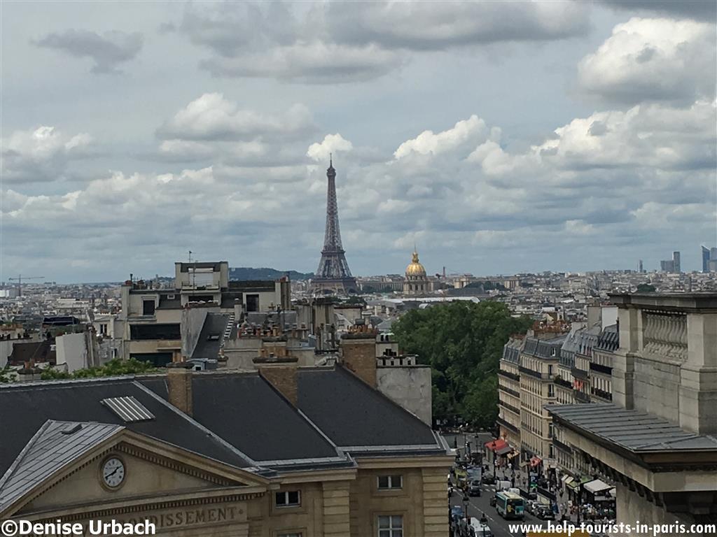 Pantheon Paris Ausblick