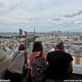 Schöner Blick auf Paris