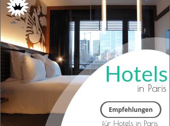 Hotel Empfehlungen für Paris