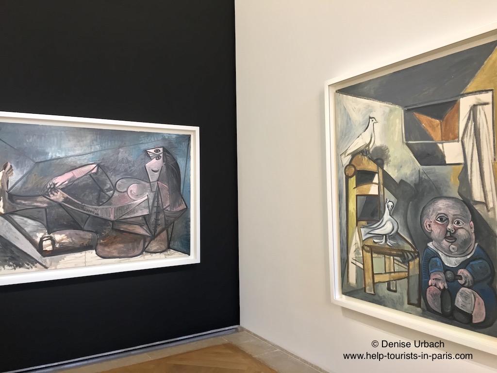 Ausstellungssaal Picasso Museum Paris